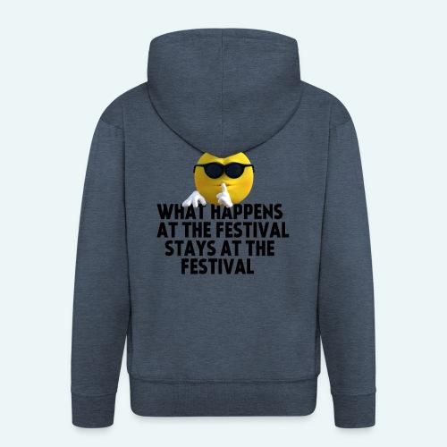 What happens at the festival guy - Mannenjack Premium met capuchon