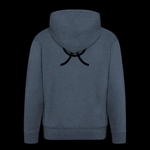 AW1 Design zwart - Mannenjack Premium met capuchon