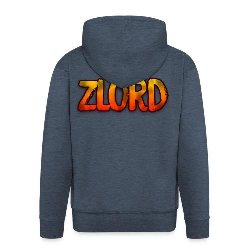 YouTuber: zLord - Felpa con zip Premium da uomo