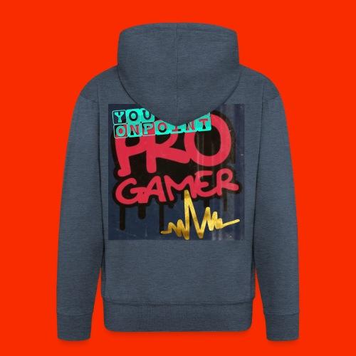 Pro Gamer - Männer Premium Kapuzenjacke