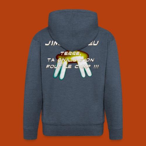 JIMMY GUIEU - Veste à capuche Premium Homme