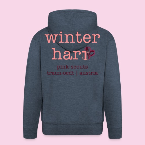 winterhart - Männer Premium Kapuzenjacke