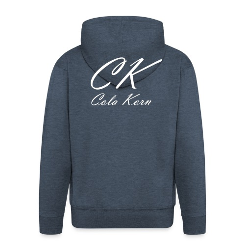 CK Logo 200 transparent - Männer Premium Kapuzenjacke