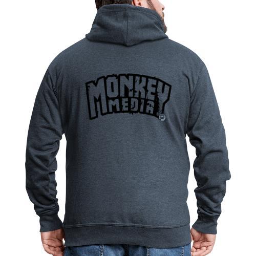 MonkeyMedia Wortlaut - Männer Premium Kapuzenjacke
