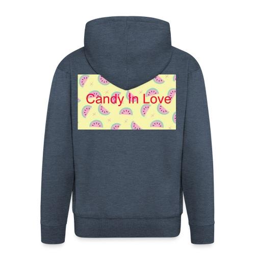 Merchandise Candy In Love - Mannenjack Premium met capuchon