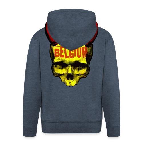 Belgium Devil 2 - Mannenjack Premium met capuchon