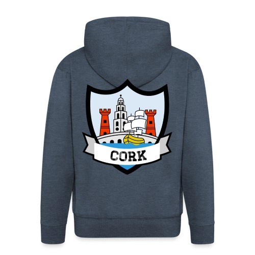 Cork - Eire Apparel - Men's Premium Hooded Jacket