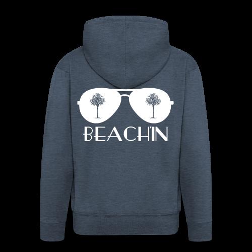 BEACH'IN - Beachlife - Männer Premium Kapuzenjacke
