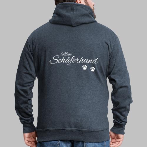 Mein Schäferhund - T-Shirt - Hoodie - Pullover - Männer Premium Kapuzenjacke
