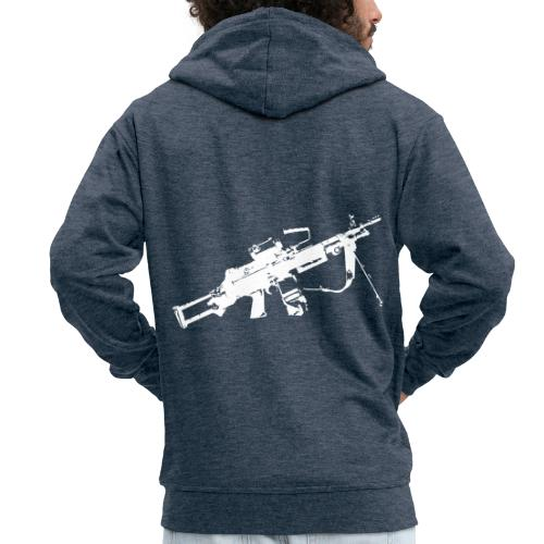 FN Minimi Para machine gun M249 SAW Kulspruta 90 - Premium-Luvjacka herr