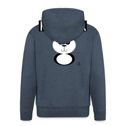 Panda - Mannenjack Premium met capuchon