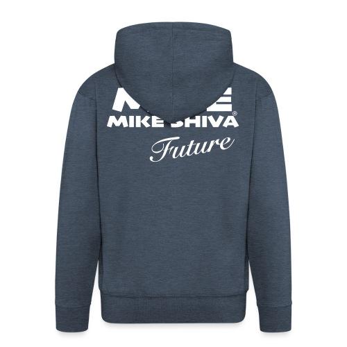 MIKE SHIVA - Männer Premium Kapuzenjacke