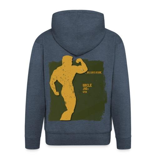 big guns inside shirt - Männer Premium Kapuzenjacke