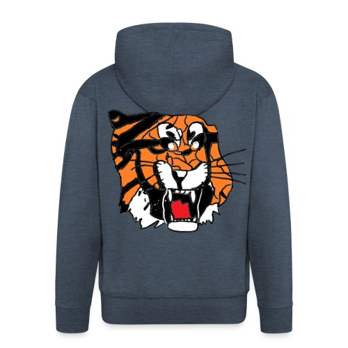 Tigerplaylogo - Männer Premium Kapuzenjacke