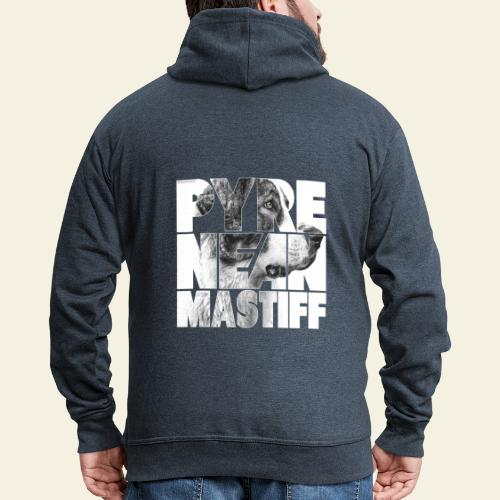 Pyrenean Mastiff N - Miesten premium vetoketjullinen huppari