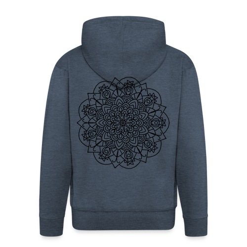 Beetle Mandala - Men's Premium Hooded Jacket