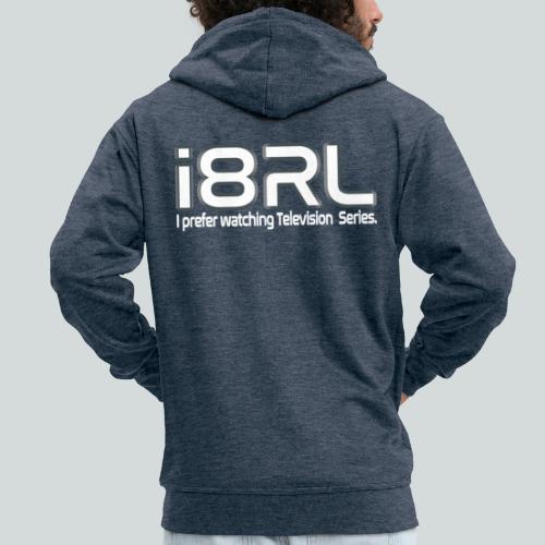 i8RL - I prefer watching Television series - Veste à capuche Premium Homme