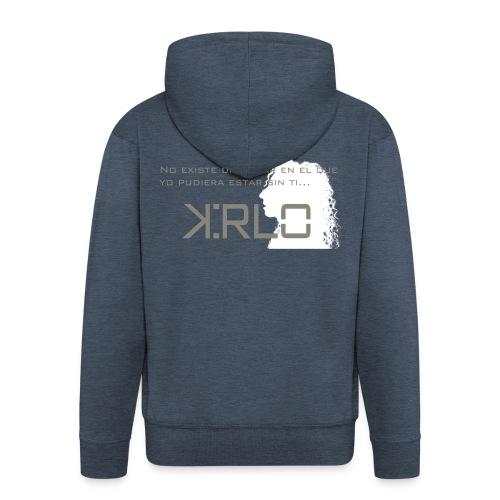Camisetas Kirlo Sin Ti - Chaqueta con capucha premium hombre