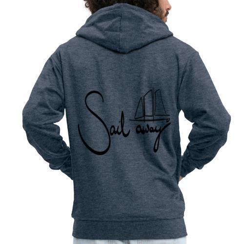 Sailaway - Männer Premium Kapuzenjacke