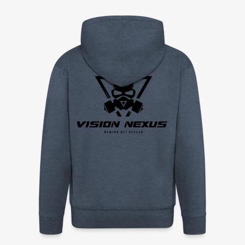 Vision Dark - Männer Premium Kapuzenjacke