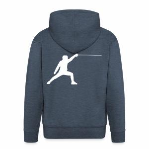 Fencer - Männer Premium Kapuzenjacke