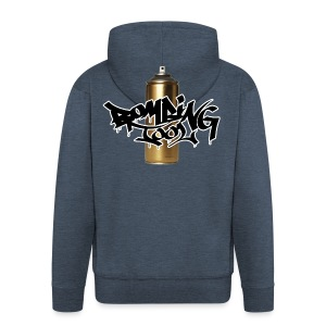 Golden Spray Can Bombing Tool - Männer Premium Kapuzenjacke
