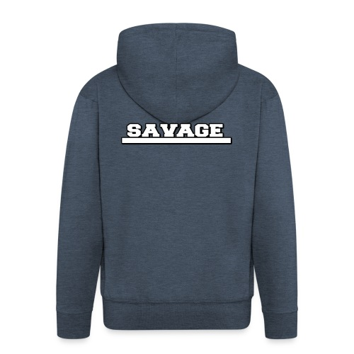 Savage Design - Men's Premium Hooded Jacket