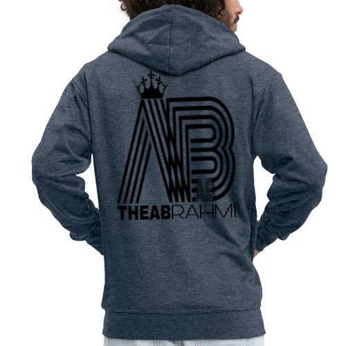 THEABRAHMI BLACK - Veste à capuche Premium Homme