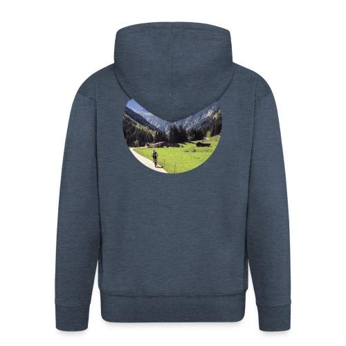 Alpencross - Männer Premium Kapuzenjacke