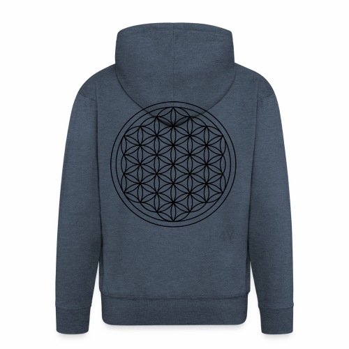 Flower Of Life - This Design Will Heal You - Herre premium hættejakke