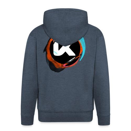 Kosen-Peinture-1 - Men's Premium Hooded Jacket