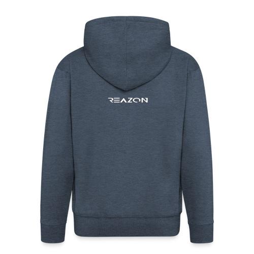 Das ist der Offiziele Merch von Reazon - Männer Premium Kapuzenjacke