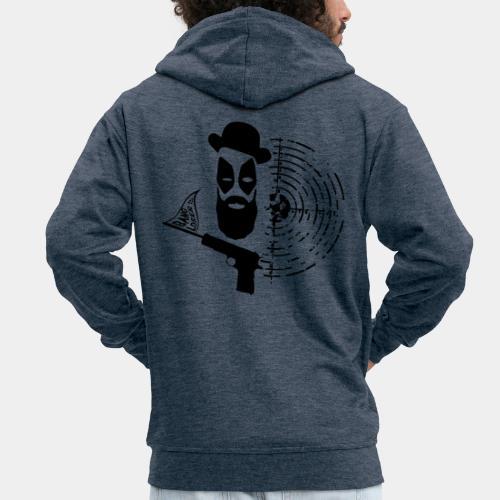 POOL_01 - Rozpinana bluza męska z kapturem Premium
