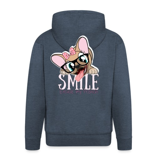 SMILE NAYA - Veste à capuche Premium Homme