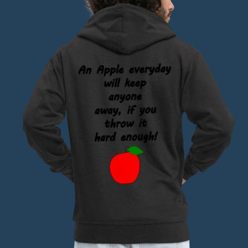 Apple Doctor - Männer Premium Kapuzenjacke