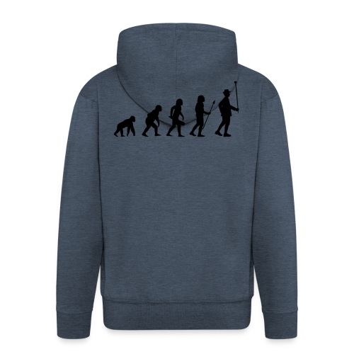 Stabführer Evolution - Männer Premium Kapuzenjacke