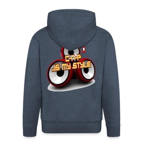 C-N-P .. Is My Style Logo - Männer Premium Kapuzenjacke