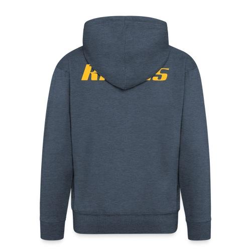logo rileus - Männer Premium Kapuzenjacke