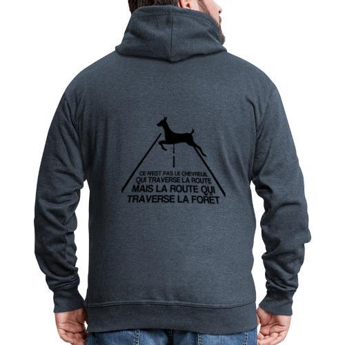 Chevreuil - Veste à capuche Premium Homme