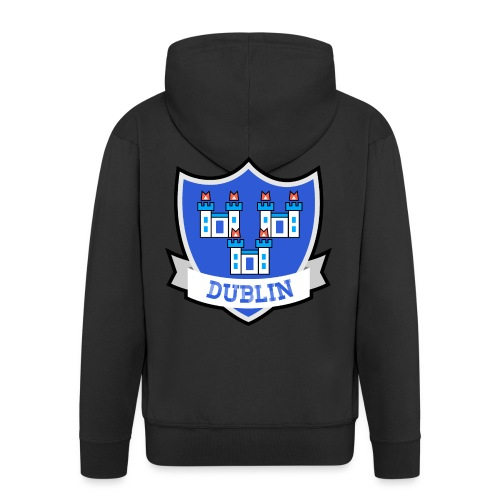 Dublin - Eire Apparel - Men's Premium Hooded Jacket