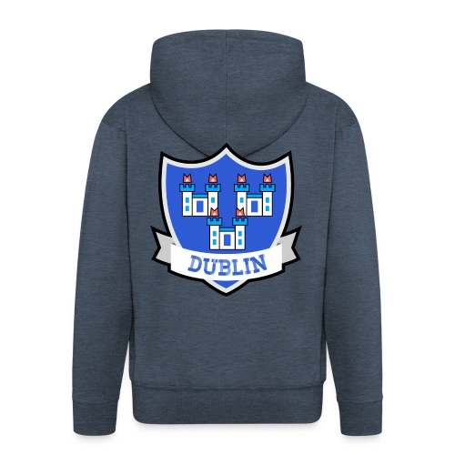 Dublin - Eire Apparel - Men's Premium Hooded Jacket