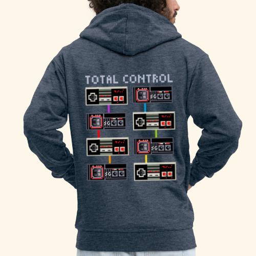 TOTAL CONTROL - Felpa con zip Premium da uomo