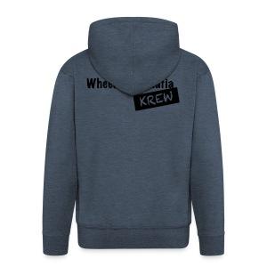 WCMKrew - Mannenjack Premium met capuchon