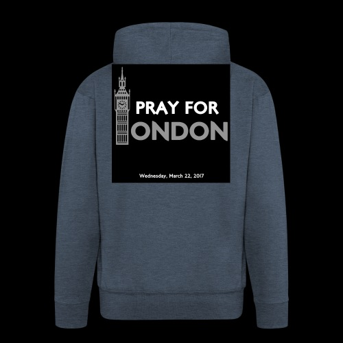 PRAY FOR LONDON - Veste à capuche Premium Homme