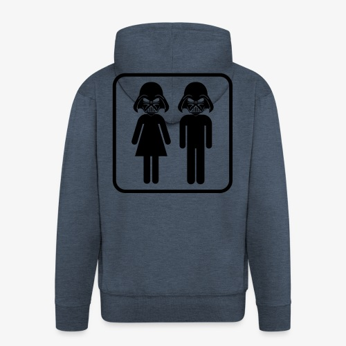 Dark Side Mother & Father - Männer Premium Kapuzenjacke