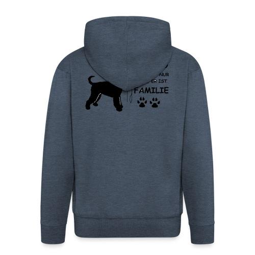 Mein_Hund_ist_Familie - Männer Premium Kapuzenjacke