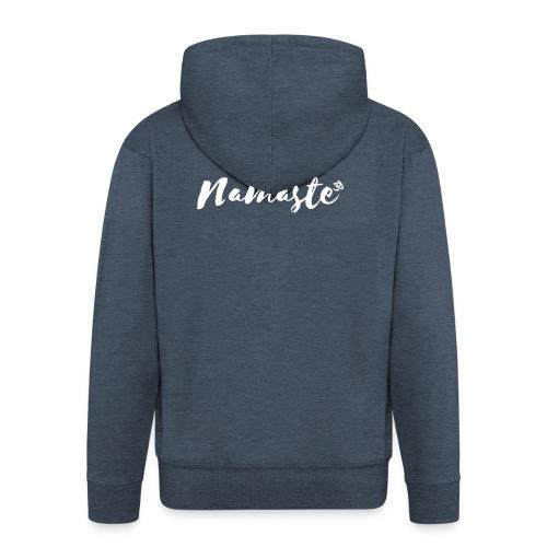 Namaste - Männer Premium Kapuzenjacke