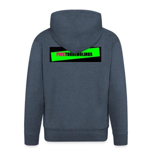 pinklogo - Mannenjack Premium met capuchon