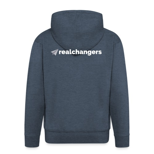 realchangers - Men's Premium Hooded Jacket