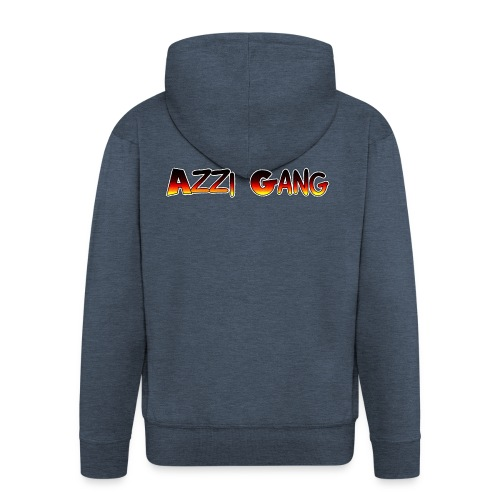 OFFICIAL AZZI GANG CLOTHING - Men's Premium Hooded Jacket